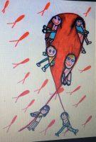 Umiestnenie vo výtvarnej súťaži pre  kampaň Červené stužky